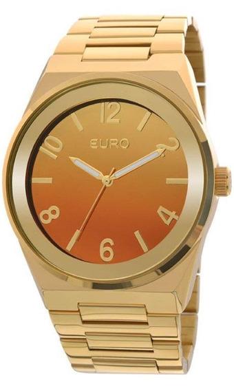 Relógio Euro Feminino Dourado Eu2035yaf/4l