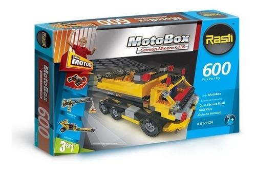 Rasti Camion Minero 600 Piezas 3en1 Con Motor @ Micieloazul