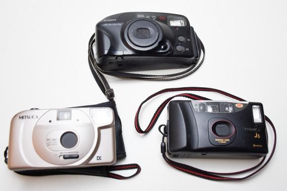 Vendo Lote De 3 Câmeras Antigas