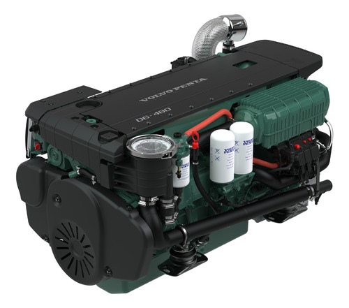 Motor Diesel Volvo Penta D6 440hp + Reversor P/ Barco Lancha