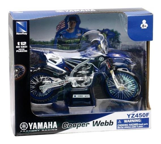 Yamaha Factory Race Team Cooper Webb 1:12 .. En Magimundo !!