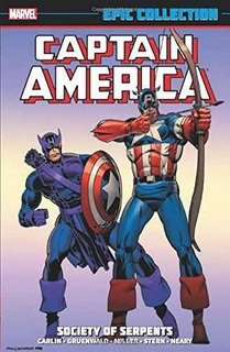 Captain America Epic Collection: Society Of Serpents : Socie