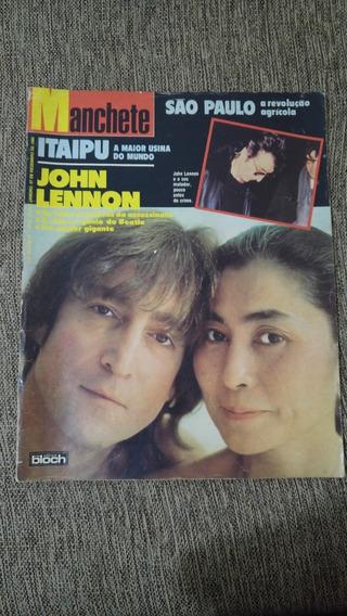 John Lennon Morte Manchete Revista 27 Dezembro 1980