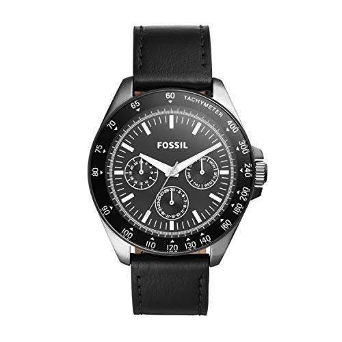 Fosil Bq2293 Reloj De Cuarzo Para Hombre Acero Inoxidable Y