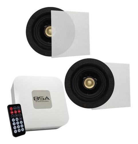 Kit Fácil Bsa S1 Arandela+amplificador Bluetooth/usb/sd Card