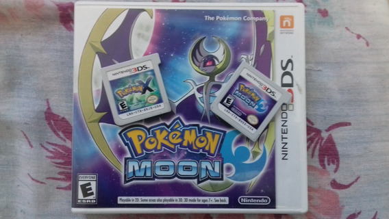 Nintendo 3ds Xl E Pokemon Moon
