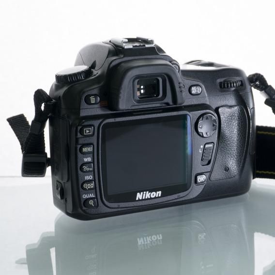 Cámara Nikon D80 (sólo Cuerpo) 10.2 Mp Con Formato Dx