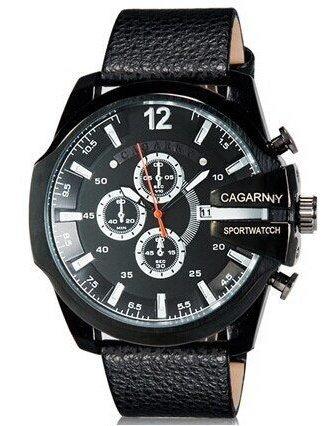 Relógio Masculino Boss Cagarny Original Frete Grátis Black