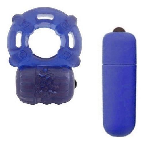 Anillo Vibrador + Balita Vibradora Estimulador