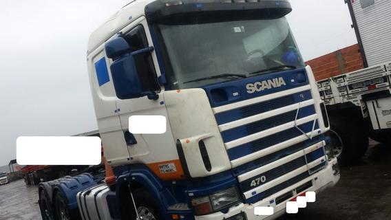 Scania R 470 - 2008 - 6x4 - Manual - Bug Leve -r$ 160.000,00