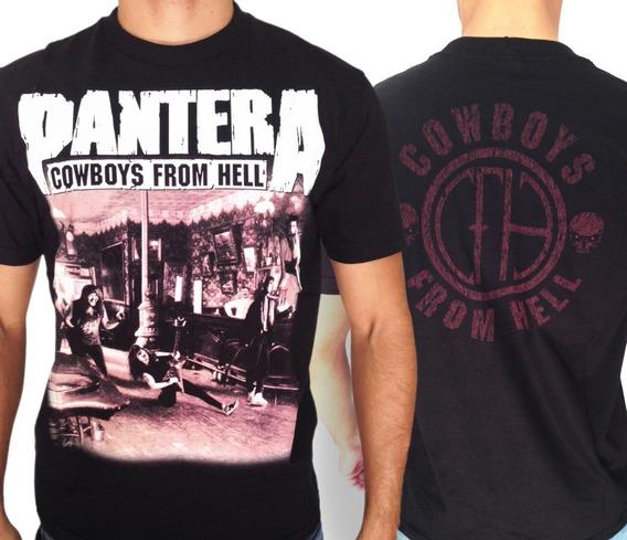 Camiseta Pantera Consulado Do Rock Camisa Metal E444