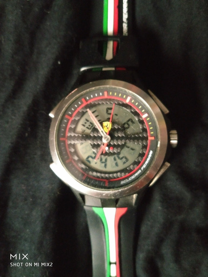 Relógio Ferrari Edição Limitada Ganhado De Emerson Fitipaldi