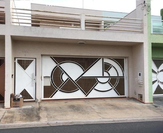 Sobrado Em Atibaia, Jardim Paulista Bairro Residencial Com Ruas Asfaltadas Próximo A Alameda Lucas - Ca00951 - 68301832