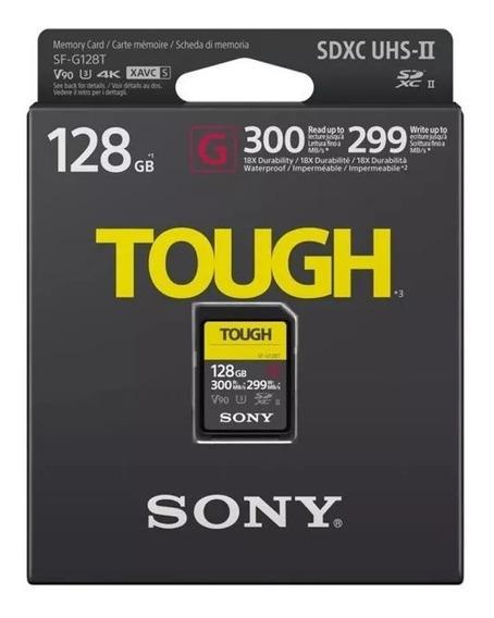 Cartão De Memória Sd Sony Serie G Tough 300-299 Mb/s Sd 128