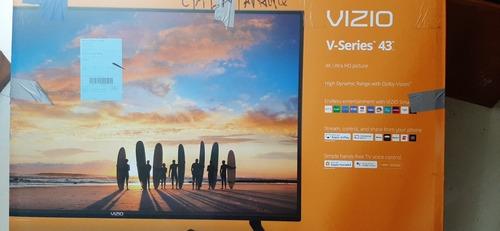 Tv Vizio 43   Vizio V-series 4k .dañado , Para Repuesto