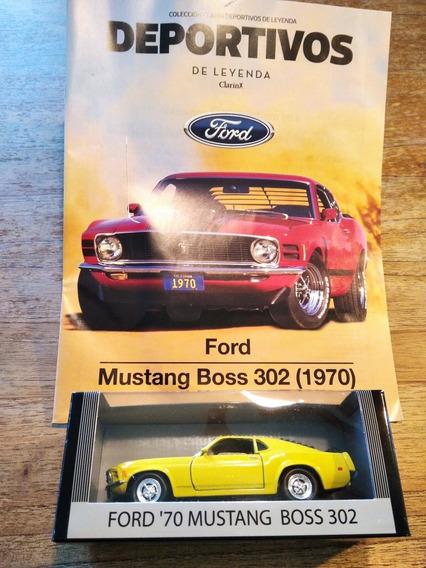 Colección Deportivos De Leyenda (ford 70 Mustang Boss 302)