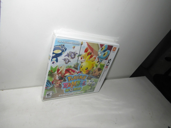 Pokémon Rumble World Nintendo 3ds Mídia Física Novo Lacrado