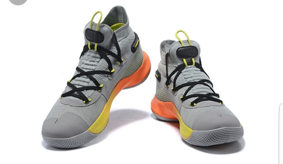 Tenis Botas Under Armour Hombre Curry