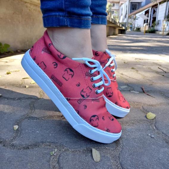 Tênis Casual La Casa De Papel - Closet Shoes Brasil