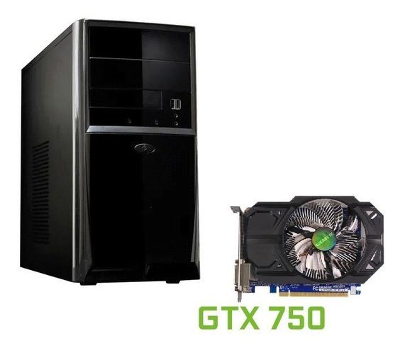 Pc Gamer Quad Q6700 Gtx 750 3 Gb Ram 850,00
