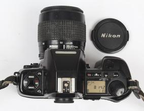 Nikon Af F 801s Analógica Profissional Com Objetiva 35 X 80
