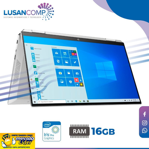 Hp Spectre X360 13.3 Fhd Touch I7-1065g7, 16gb 512gb Win 10