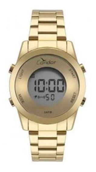 Relógio Condor Feminino Cobj3279aa/4d Dourado Digital