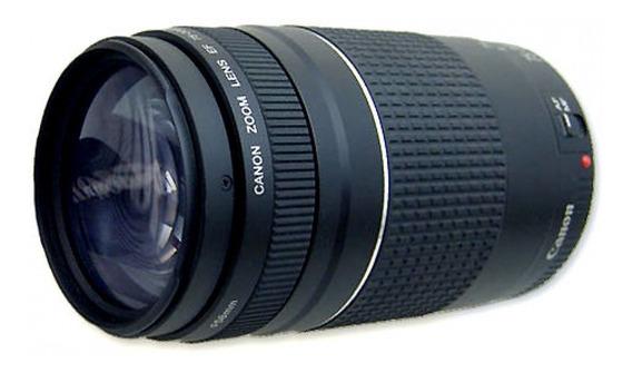 Lente Para Canon Ef 75-300mm F/4-5.6 Iii Lacrada