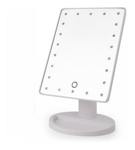 Espejos Tablet Con Luces Led - Con Base - Encendido Táctil