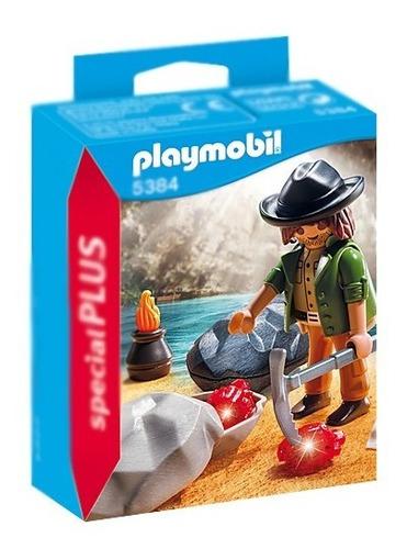Playmobil Buscador De Gemas 5384 Special Plus Educando