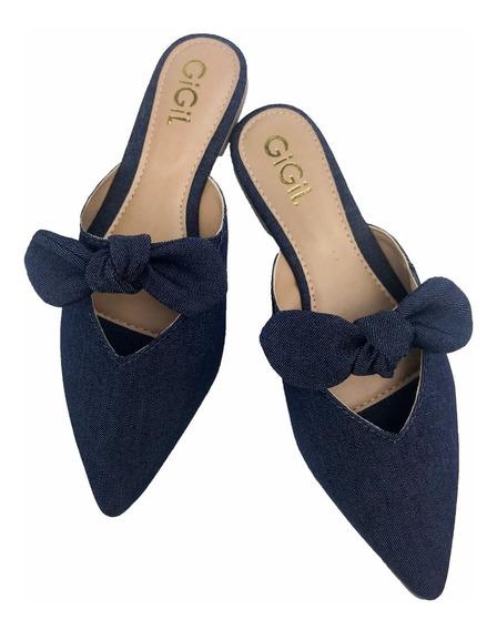 Sapato Feminino Scarpin Sapatilha Mule Rasteirinha Conforto