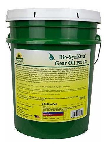 Imagen 1 de 1 de Lubricante Industrial - Renewable Lubricants Bio-synxtra Iso