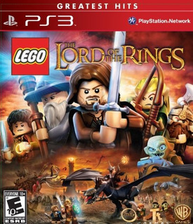 Lego Lord Of The Rings - Playstation 3- Envío Gratis