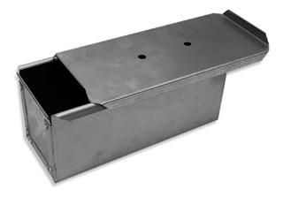 Molde Pan Lactal 24x10x10 Sintapa, Chapa Aluminizada X 6 Uni