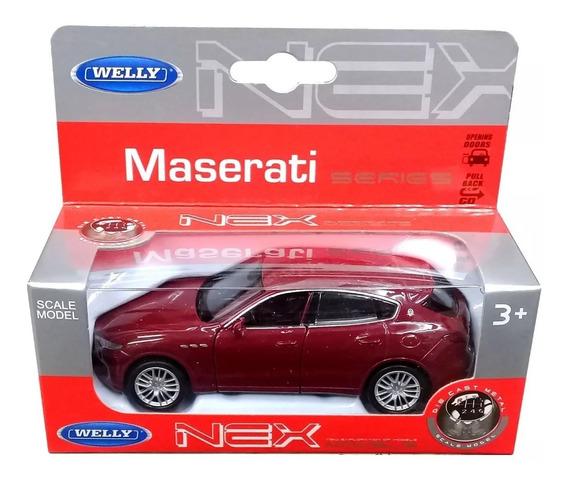 Maserati Levante Escala 1/36 Welly Tienda Drowse!