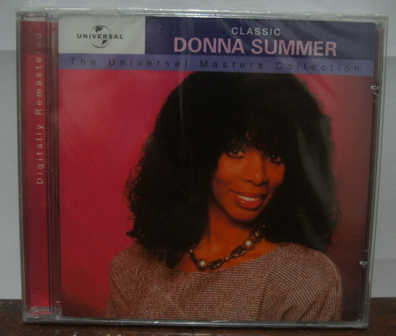 Cd Donna Summer - The Universal Masters Collection( Lacrado)