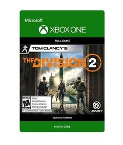 The Division 2 - Código 25 Dígitos - Xbox One Digital