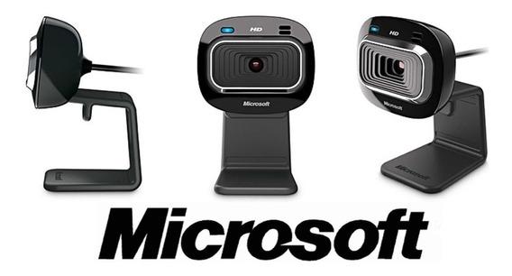 Webcam Microsoft Lifecam Hd-3000, Widescreen, 720p - T3h0001