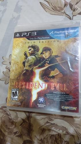 Resident Evil 5 Gold Playstation 3