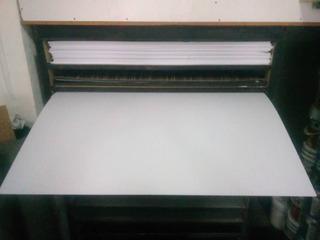 Lamina De Pvc Blanco 3mm 1.22x2.44
