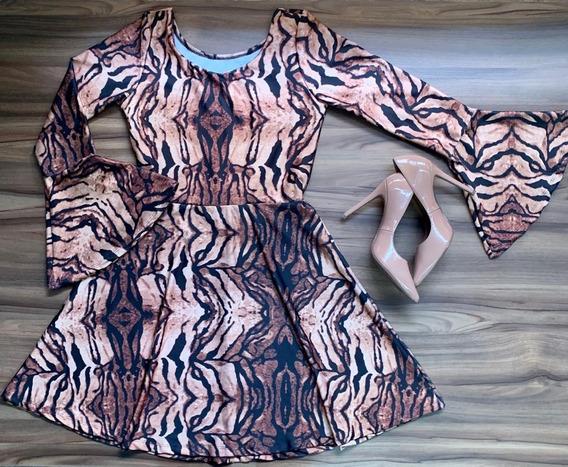 Vestido Maria Da Paz Lançamento 2019 Super Confortável Top