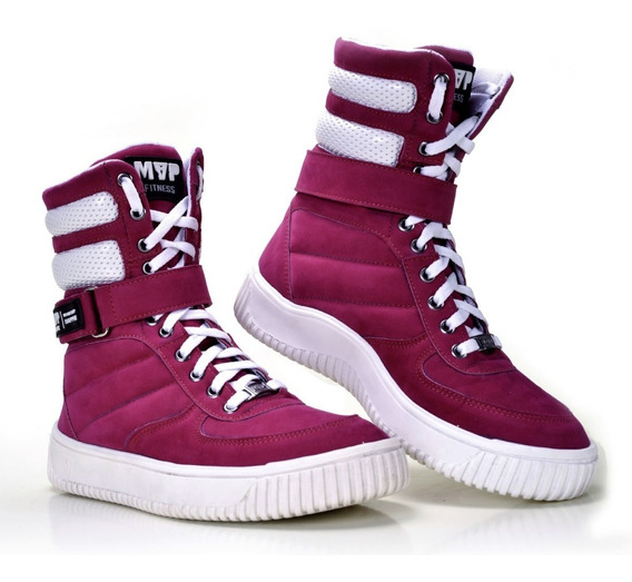 Botinha Tênis Mvp Boot Fashion - Pink - Original !!!!