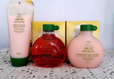 Shampoo, Condicionador E Creme Para Pentear