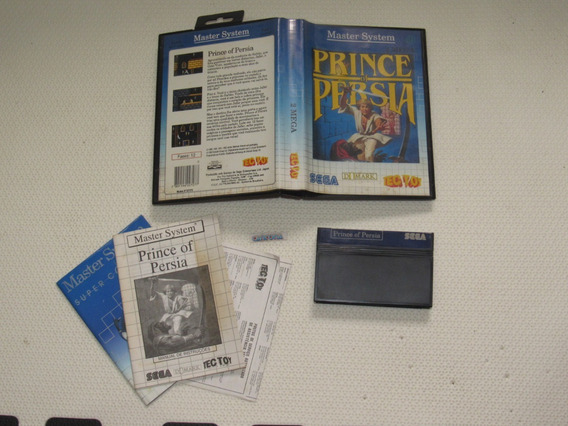 Prince Of Persia Original Tec Toy Master System Completa