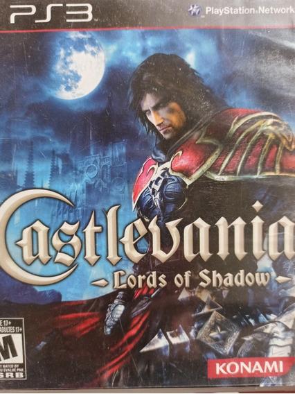 Castlevania Lords Of Shadow Ps3 , Midia Física