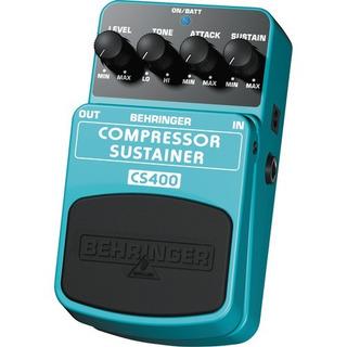 Pedal De Guitarra Behringer Cs400 Compressor Sustain