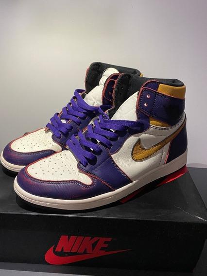 Tênis Nike Jordan 1 Retro High Og Defiant Sb La To Chicago