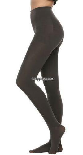 S - Dark Gray - Las Mujeres Calcetines 400d Grueso Terc-9443