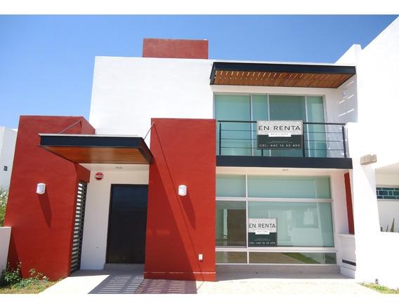 Renta Casa Amplia Juriquilla Cerca Hospital Colegios Super