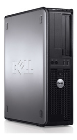 Cpu Nova Dell Optiplex Intel Core 2 Duo 4gb Hd 500gb Dvd